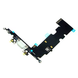 iPhone 8 Plus Ladebuchse Flex Antenne Dock Connector Audio Buchse Mikrofon Grau