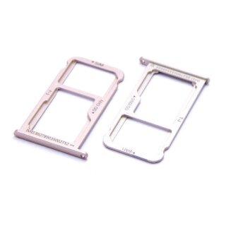 Huawei P10 Sim Karte.Huawei P10 Sim Karten Karte Adapter Micro Sd Halter Schlitten Card Tray Gold