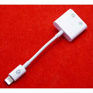 USB Kabel Adapter Lightning AUX Headset zu 3,5 mm iPhone 7 8 Plus X XS Max XR 11