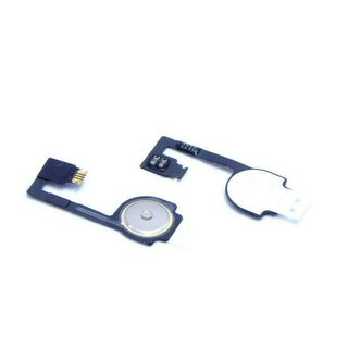 2X für iPhone 4 4G A1349, A1332 Home Button Flex Druck Knopf Ribbon Reparatur