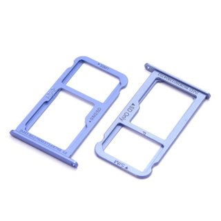 Huawei P10 Sim Karte.Huawei P10 Sim Karten Karte Adapter Micro Sd Halter Schlitten Card Tray Blau